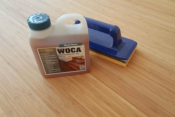 Woca onderhoud bamboe vloer Vloeren Venlo shop onderhoud